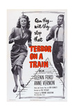 Terror on a Train, (Aka Time Bomb), from Left: Anne Vernon, Glenn Ford, 1953 Prints