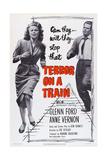 Terror on a Train, (Aka Time Bomb), from Left: Anne Vernon, Glenn Ford, 1953 Prints