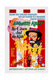 The Clown and the Kids, Emmett Kelly, 1967 Posters