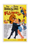 Fluffy, Howard Morris (Axe), Embracing from Left: Tony Randall, Shirley Jones, 1965 Posters