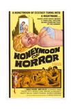Honeymoon of Horror, 1964 Print