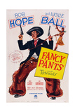 Fancy Pants, Center: Bob Hope: Right: Lucille Ball, 1950 Print