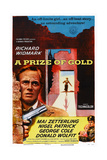 A Prize of Gold, Richard Widmark, 1955 Print