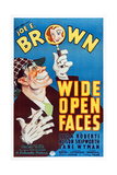 Wide Open Faces, Joe E. Brown, 1938 Print