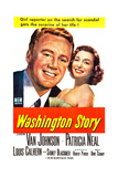 Washington Story, from Left: Van Johnson, Patricia Neal, 1952 Prints