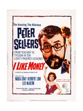 Mr. Topaze, (Aka I Like Money), Bottom: Nadia Gray; Top: Peter Sellers, Nadia Gray, 1961 Prints