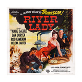 River Lady, Facing Front from Left: Yvonne De Carlo, Rod Cameron, 1948 Print