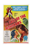The Last of the Mohicans, from Left: Binnie Barnes, Randolph Scott, Henry Wilcoxon, 1936 Plakater
