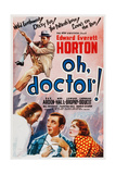 Oh, Doctor, (Aka Oh, Doctor!), 1937 Poster