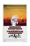 Jeremiah Johnson, Top: Robert Redford, 1972 - Poster