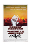 Jeremiah Johnson, Top: Robert Redford, 1972 Giclee Print