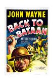 Back to Bataan, John Wayne, 1945 Plakater