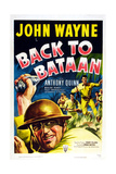 Back to Bataan, John Wayne, 1945 Art