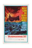Submarine X-1, 1968 Print
