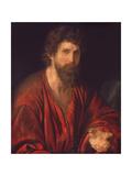 Figure of Apostle or Prophet, 1521-35 Plakater af Giovanni Girolamo Savoldo