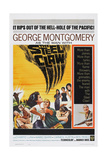 The Steel Claw, George Montgomery (Bottom Right), 1961 Poster
