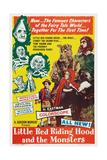 Little Red Riding Hood and the Monsters, 1962 Prints