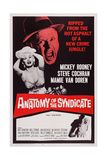 The Big Operator, (Aka Anatomy of a Syndicate), Top from Left: Mamie Van Doren, Mickey Rooney, 1959 Posters
