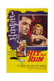 Hit and Run, Vince Edwards, Cleo Moore, 1957 Prints