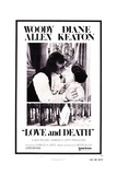 Love and Death, Woody Allen, Diane Keaton, 1975 Poster