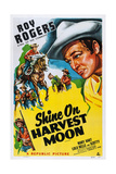Shine on Harvest Moon, Top Left and Right: Roy Rogers, 1938 Prints