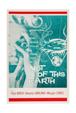 Not of This Earth, Beverly Garland, 1957 Prints