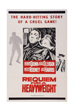 Requiem for a Heavyweight, L-R: Anthony Quinn, Julie Harris, Jackie Gleason, 1962 Prints
