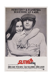 Slither, from Left: Sally Kellerman, James Caan, 1973 Poster