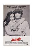 Slither, Sally Kellerman, James Caan, 1973 Poster