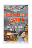 One Minute to Zero, from Left: Ann Blyth, Robert Mitchum, 1952 Prints