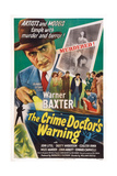 The Crime Doctor's Warning, Warner Baxter, 1945 Prints
