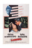 Libel, from Left: Olivia De Havilland, Dirk Bogarde, 1959 Posters
