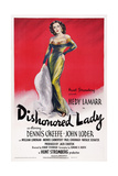 Dishonored Lady, Hedy Lamarr, 1947 Prints