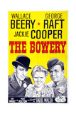The Bowery, from Left: George Raft, Jackie Cooper, Wallace Beery, 1933 Giclee Print