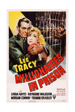 Millionaires in Prison, from Left: Lee Tracy, Linda Hayes, 1940 Art