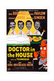 Doctor in the House, from Left: Donald Sinden, Kenneth More, Dirk Bogarde, Donald Houston, 1954 Plakater