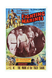 The Fighting Marines, Episode No. 4: 'The Mark of the Tiger Shark,' 1935 Prints