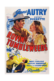 Rovin' Tumbleweeds, Top from Left: Gene Autry, Mary Carlisle, 1939 Posters