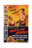 Best of the Badmen, from Left: Claire Trevor, Robert Ryan, 1951 Prints