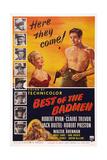 Best of the Badmen, from Left: Claire Trevor, Robert Ryan, 1951 Prints