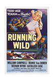 Running Wild, Center: Mamie Van Doren, Bottom Right: Keenan Wynn, 1955 Prints