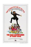 The Mad Adventures of Rabbi Jacob, (Aka Les Aventures De Rabbi Jacob), Center: Louis De Funes, 1973 Posters