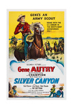 Silver Canyon, Top: Gene Autry, Champion, the Horse, 1951 Prints
