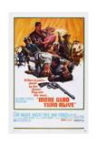 More Dead Than Alive, Rear L-R: Vincent Price, Clint Walker, Anne Francis, 1969 Posters