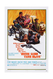 More Dead Than Alive, Rear L-R: Vincent Price, Clint Walker, Anne Francis, 1969 Posters