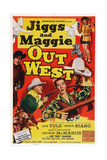 Jiggs and Maggie Out West, 1950 Prints
