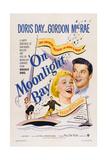 On Moonlight Bay, from Left: Doris Day, Gordon Macrae, 1951 Giclee Print