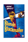Blonde Blackmailer, (Aka Stolen Time), Susan Shaw (Center), 1955 Posters