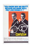Compulsion, Orson Welles, Dean Stockwell, 1959 Print