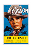 Frontier Justice, Hoot Gibson, 1936 Poster